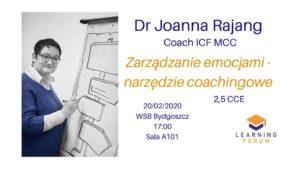 Dr Joanna Rajang